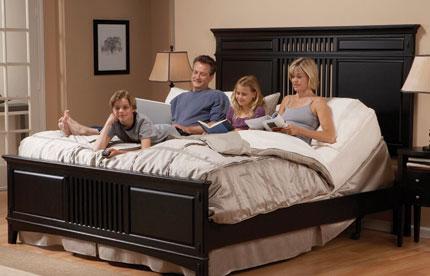 best bed for stress sleep easy rest adjustable sleep systems. Black Bedroom Furniture Sets. Home Design Ideas