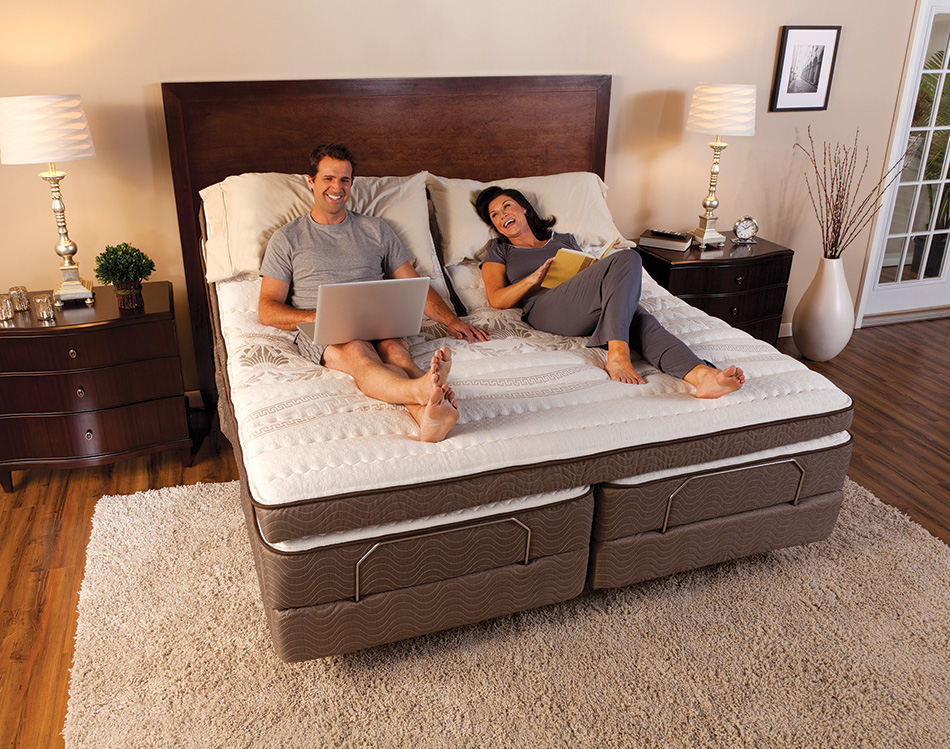 Harmony Model Adjustable Bed Easy Rest